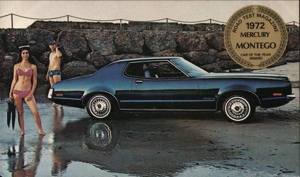 1972 Mercury Montego MX 2-Door Hardtop Cars
