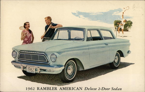 1962 Rambler American Deluxe 2-door sedan Cars