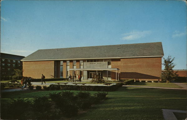 Elliot Hall, Dining Hall and Student Union Building at St. Michael's College Winooski Vermont