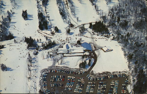 Birdseye View of Mt. Snow Ski Area