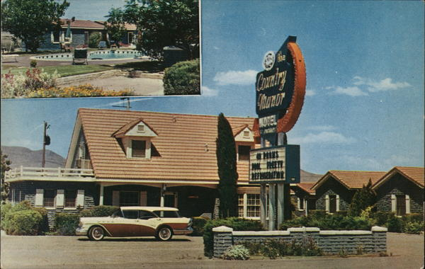 The Country Manor Motor Hotel Safford Arizona