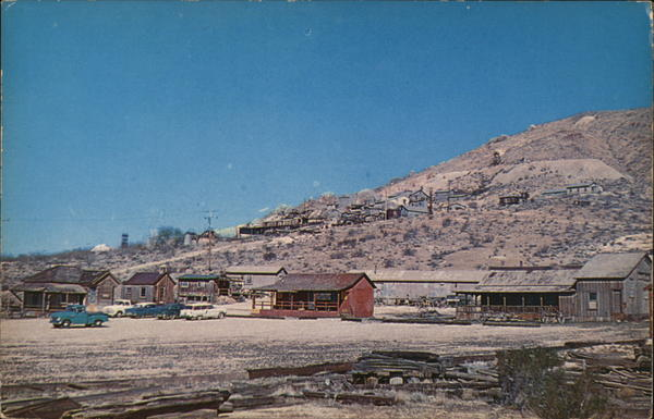 Burton's Tropico Gold Mine and Mill Rosamond California