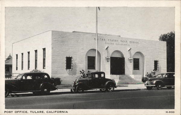 Post Office Tulare California