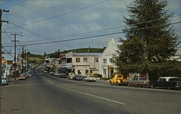 Main St. Looking North Sutter Creek California