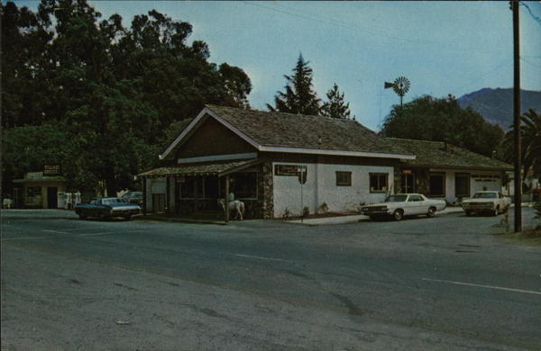 View of Shop, City Offices & Post Office Clayton California