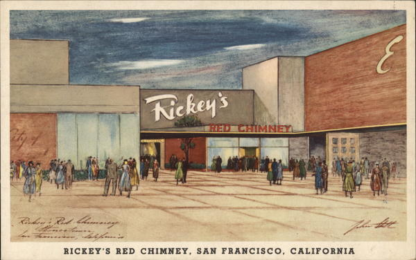 Rickey's Red Chimney San Francisco California