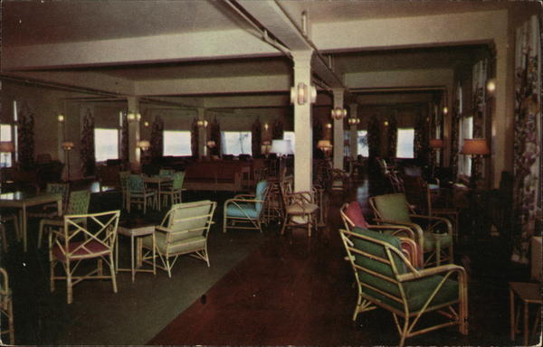 Lake Hotel Lounge Yellowstone National Park Wyoming