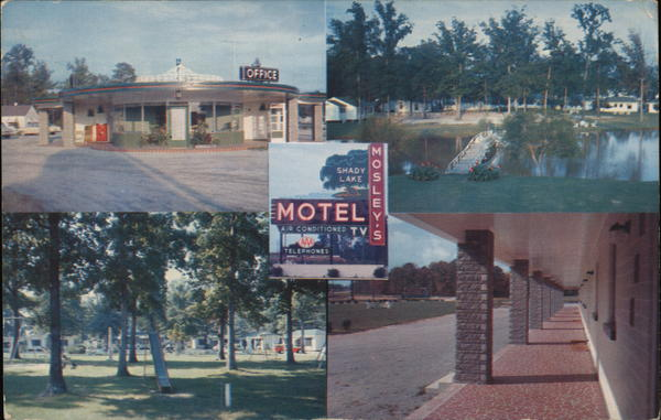 Mosely's Shady Lake Motel Rocky Mount North Carolina