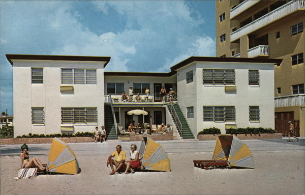 Golden Sands Motel & Apartments Hollywood Beach Florida
