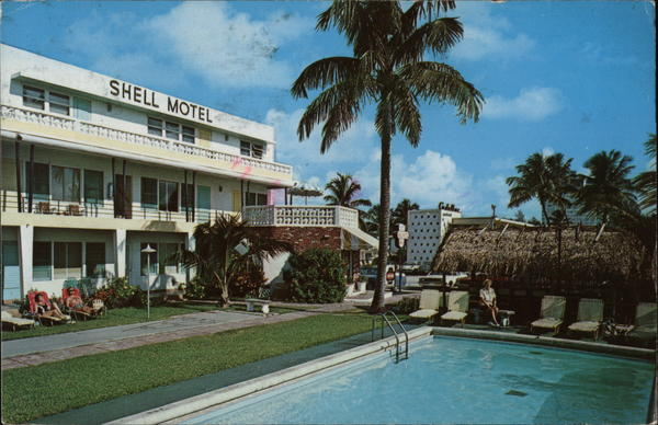 Shell Motel Fort Lauderdale Florida