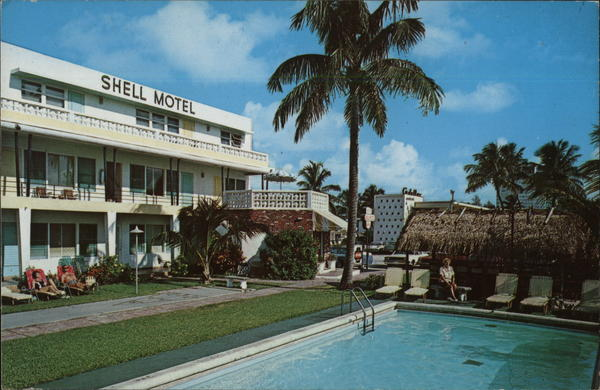 Shell Motel and Apts. Fort Lauderdale Florida