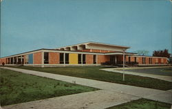 Student Union, University of South Dakota Postcard
