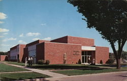 School of Business State University of South Dakota Postcard