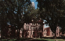 Old Main, University of South Dakota Postcard