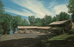 Lake 'N Pines Motel Postcard