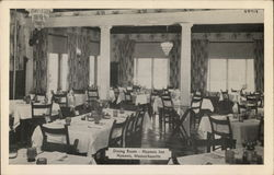 Dining Room, Hyannis Inn Postcard