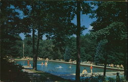 The Swimming Pool, Buck Hill Falls