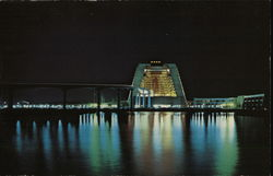 Contemporary Resort, Walt Disney World Postcard