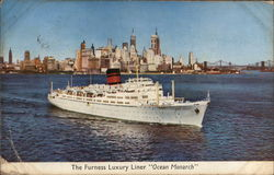 "The Furness Luxury Liner ""Ocean Monarch"""