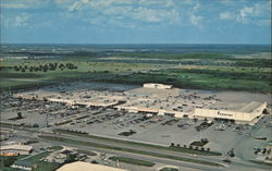 Aerial View of Edison Mall Shopping Center