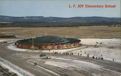 L.F. Joy Elementary School Postcard