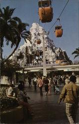 Matterhorn Mountain at Disneyland