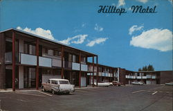 Hilltop Motel and Restaurant Postcard
