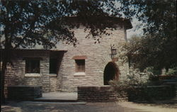 Rustic Stone Conessions Building in Garner State Park