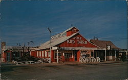 Casey's Red Barns Postcard