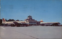 The New Million Dollar Municipal Airport Postcard