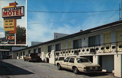 Williams Motel, Best Value Inns Postcard