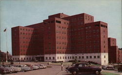 Veteran's Administration Hospital, 39th and Woodland Avenue Postcard