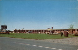 Colonial Motel Postcard