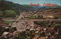 Aerial view of Orinda, California