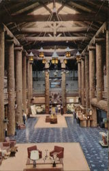 Lobby of the Glacier Park Hotel