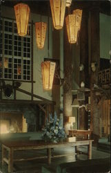 Lobby, Lake McDonald Lodge