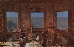 The Lounge at Grand Canyon Lodge