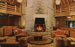 Lobby, Timberline Lodge
