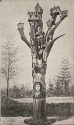Cayuga County Totem Tree