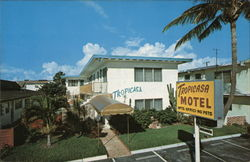 Tropicasa Motel Postcard