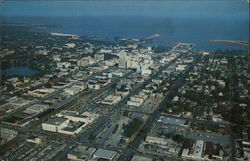 Air-view of St. Petersburg, Florida
