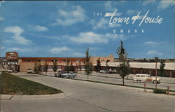 The Town House Motor Hotel Omaha, NE Postcard