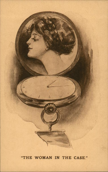Picture of Woman in Watch Case Women