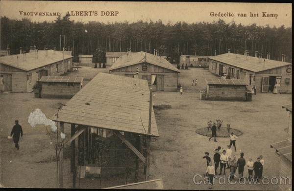 Aerial View of Military Camp Zeist The Netherlands