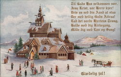 Snowy Church Christmas (Danish)