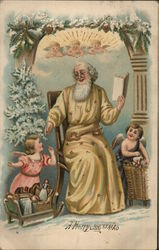 A Merry Christmas with Santa and Angels