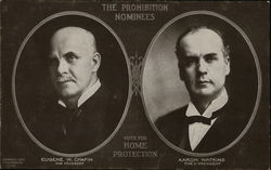 The Prohibition Nominees Chafin  Watkins