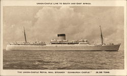 "The Union-Castle Royal Mail Steamer ""Edinburgh Castle"""