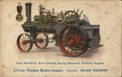 Case Standard, Rear Geared, Spring Mounted Traction Engine