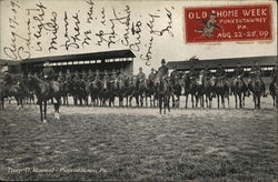 1909 Troop D Mounted